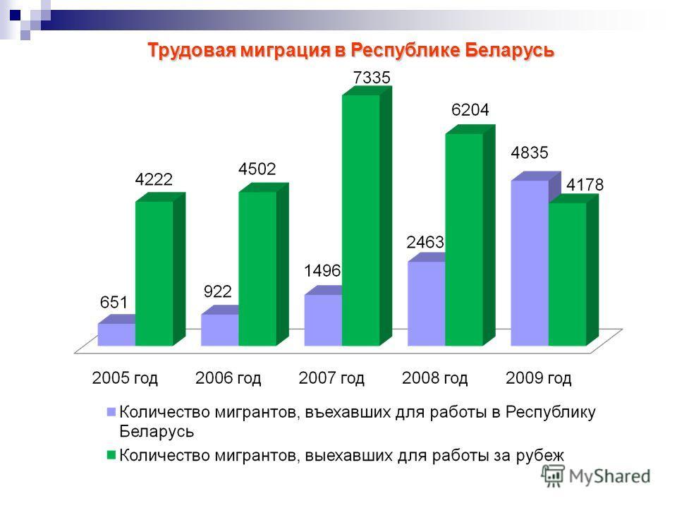 Трудовая миграция в Республике Беларусь