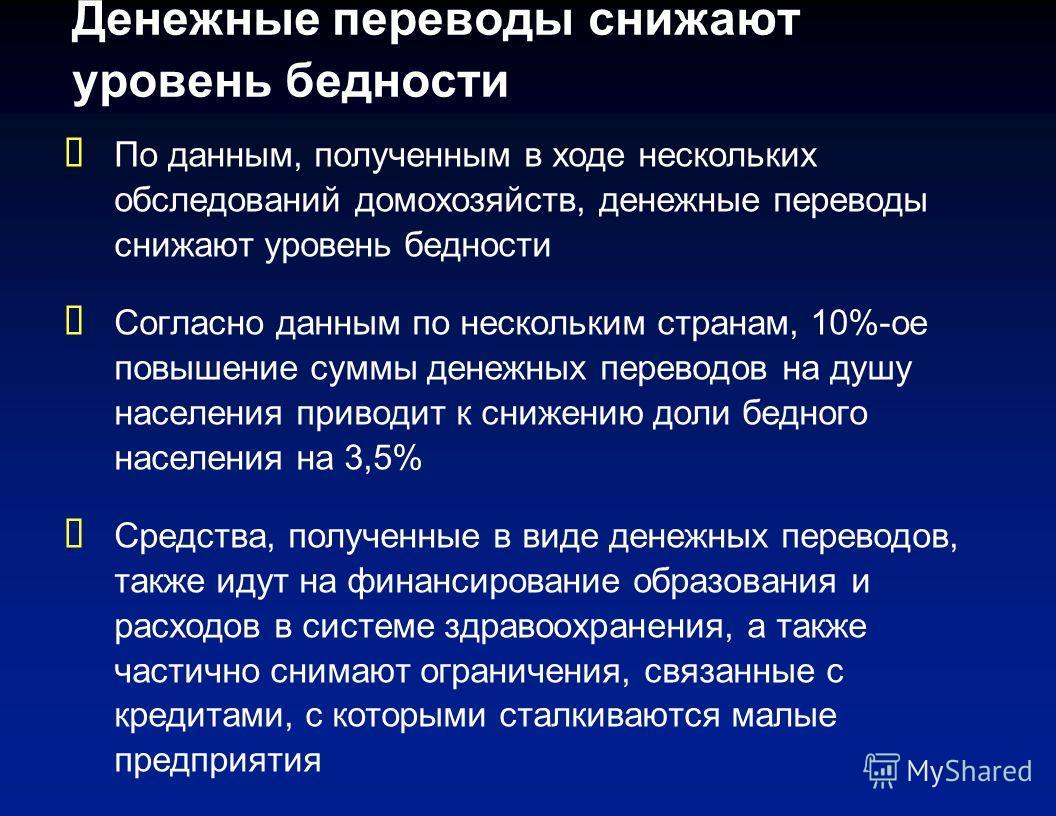 Денежные переводы в регионе Европы и Центральной Азии, 2007 г. $ млрд. % ВВП