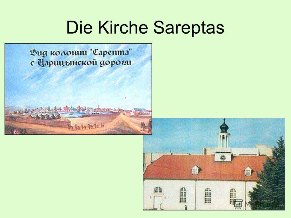 Die Kirche Sareptas