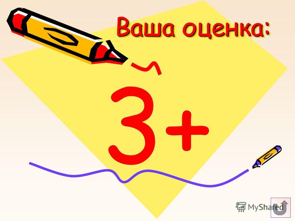 Ваша оценка: 3+