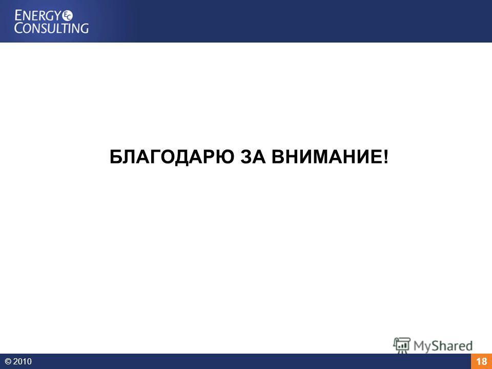 © 2010 18 БЛАГОДАРЮ ЗА ВНИМАНИЕ!