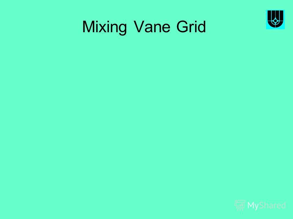Mixing Vane Grid