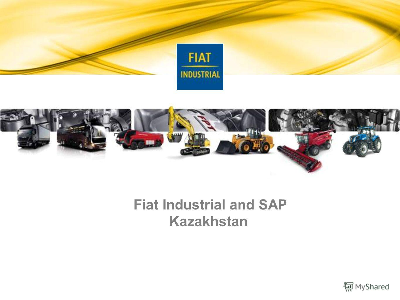 Fiat Industrial and SAP Kazakhstan