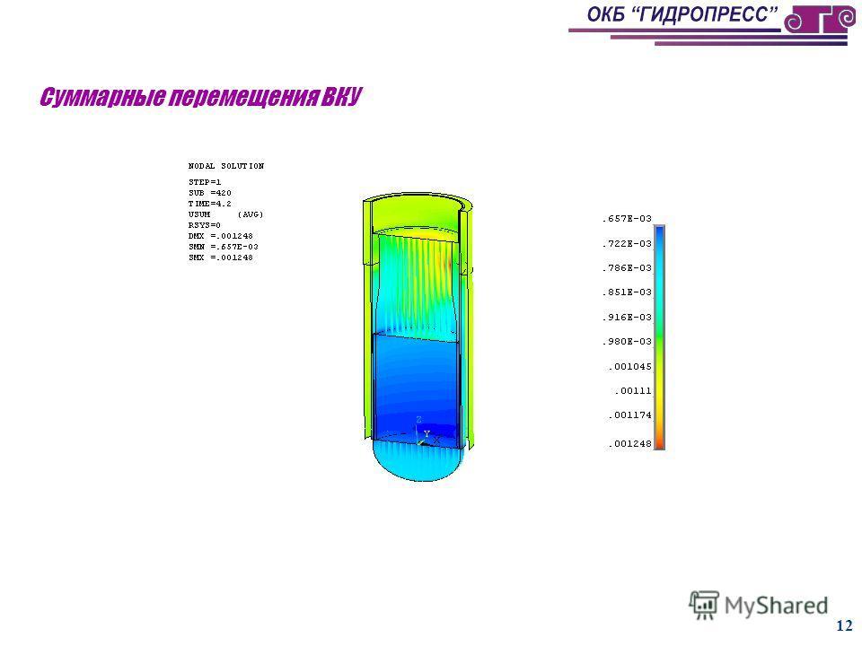 11 Максимальное тангенциальное усилие в шпонке нижнего узла крепления БЗТ