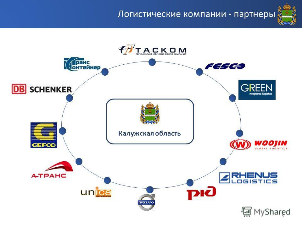 8 Логистические компании - партнеры Калужская область