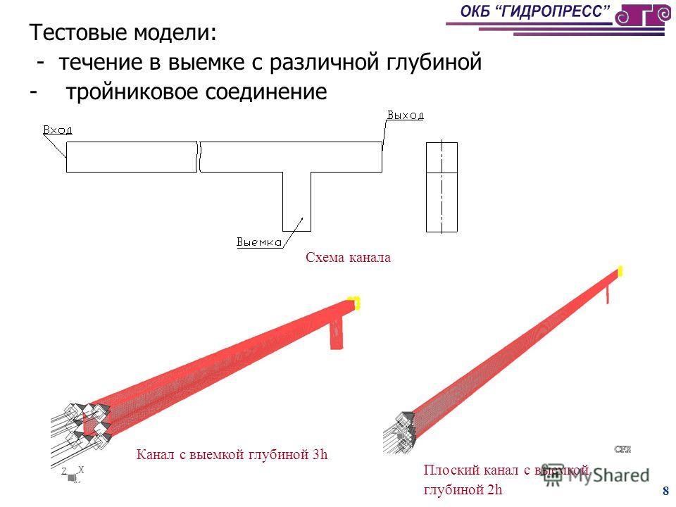 7 Критерии выбора моделей турбулентности для расчета осредненных параметров 4Определение осредненных параметров струйного течения с требуемой для расчетов температурного поля в конструкции точностью возможно при помощи различных типов моделей турбуле