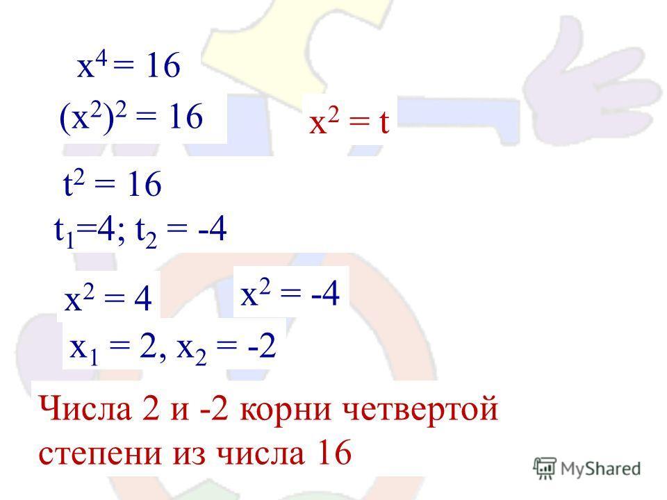 Решите уравнения: х 2 = 81 х 2 = 49 х 2 = 36