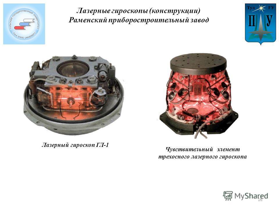 Лазерный гироскоп ГЛ-1 Чувствительный элемент трехосного лазерного гироскопа Лазерные гироскопы (конструкции) Раменский приборостроительный завод 16