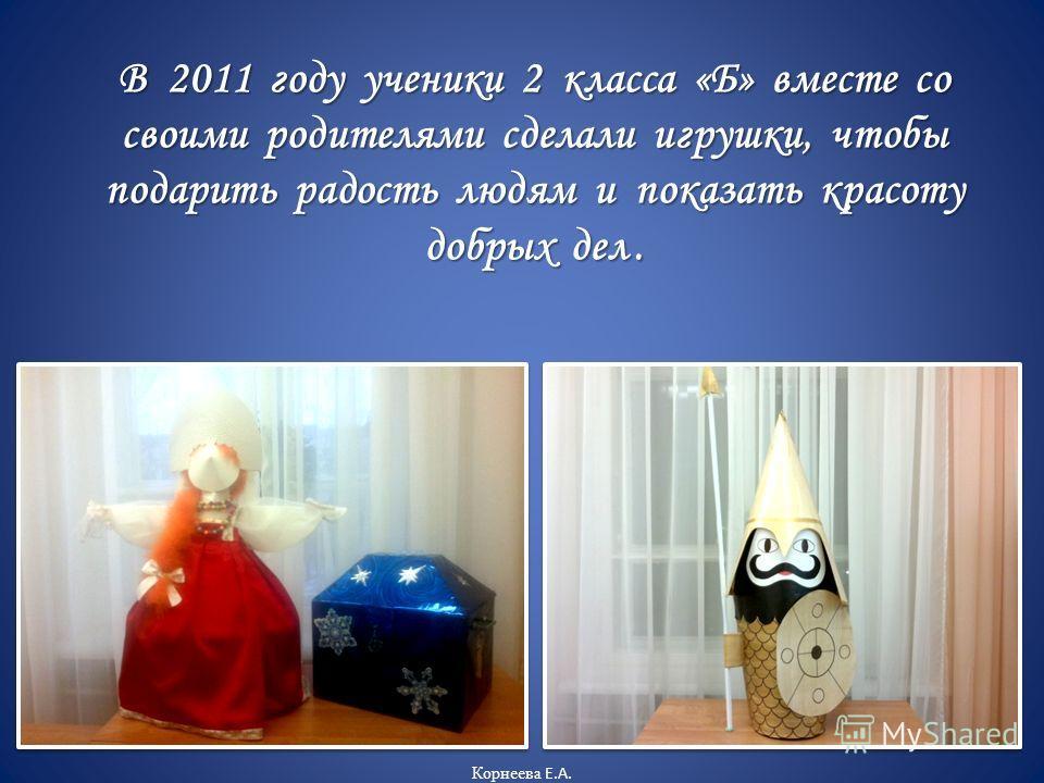 Дорогие ребята! Очень тронута вашими подарками! Спасибо за внимание! Ваши добрые дела очень согревают! Оставайтесь всегда чуткими и отзывчивыми! и отзывчивыми! Светлана Паршина Светлана Паршина 2010 год Корнеева Е.А.