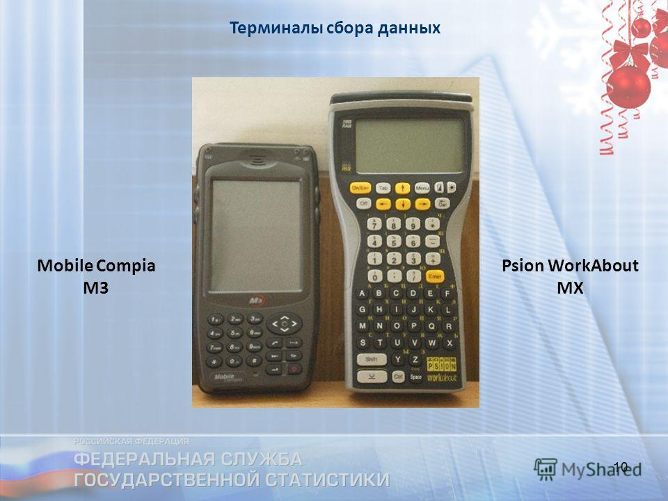 10 Mobile Compia M3 Psion WorkAbout MX Терминалы сбора данных