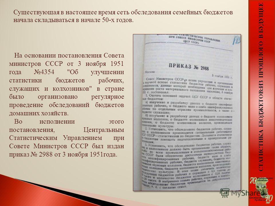 На основании постановления Совета министров СССР от 3 ноября 1951 года 4354