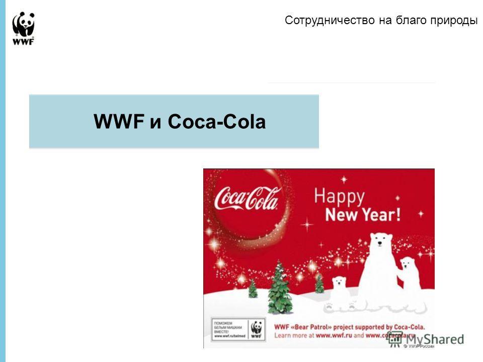 Presentation to Company Name WWF и Coca-Cola Сотрудничество на благо природы