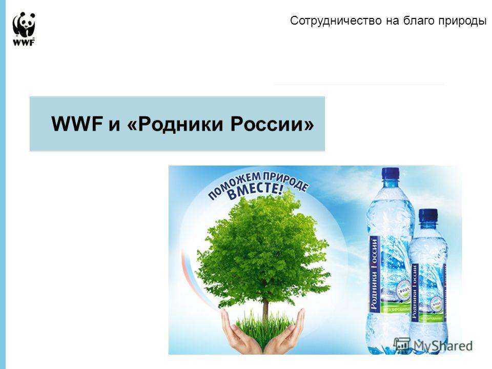 Presentation to Company Name WWF и «Родники России» Сотрудничество на благо природы