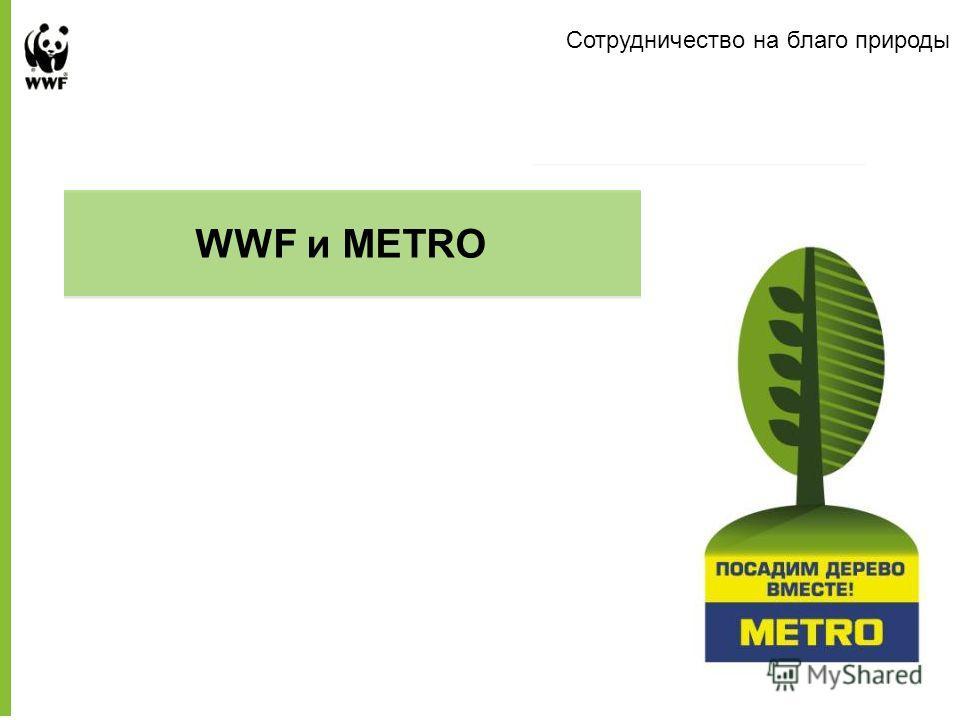 Сотрудничество на благо природы Presentation to Company Name WWF и METRO