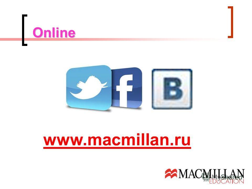Online www.macmillan.ru