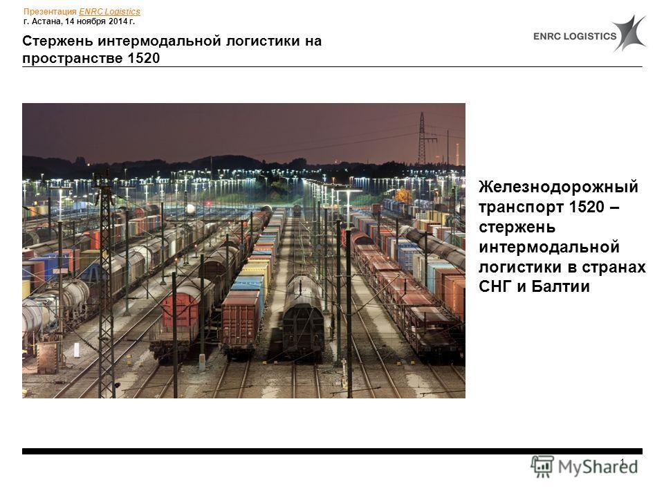 www.enrc.com Phone: +44 (0) 20 7389 1440 14 ноября 2012, г. Астана Инновационные подходы и специфика деятельности логистических операторов в странах СНГ и Балтии (на примере ENRC Logistics)