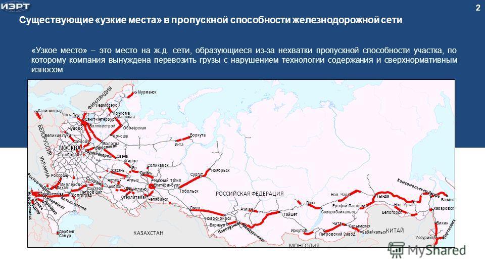 железнодорожной сети «