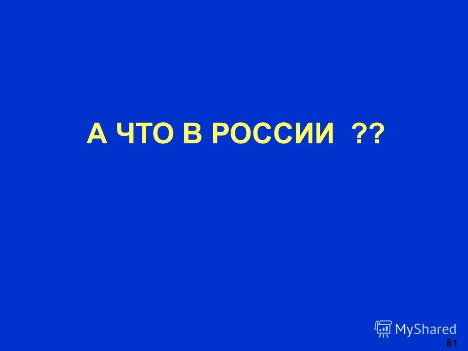 61 А ЧТО В РОССИИ ??