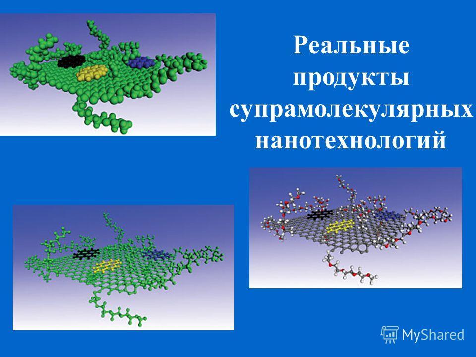 Реальные продукты супрамолекулярных нанотехнологий