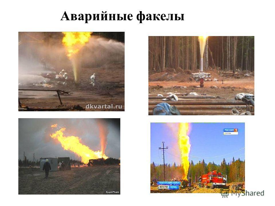 Аварийные факелы