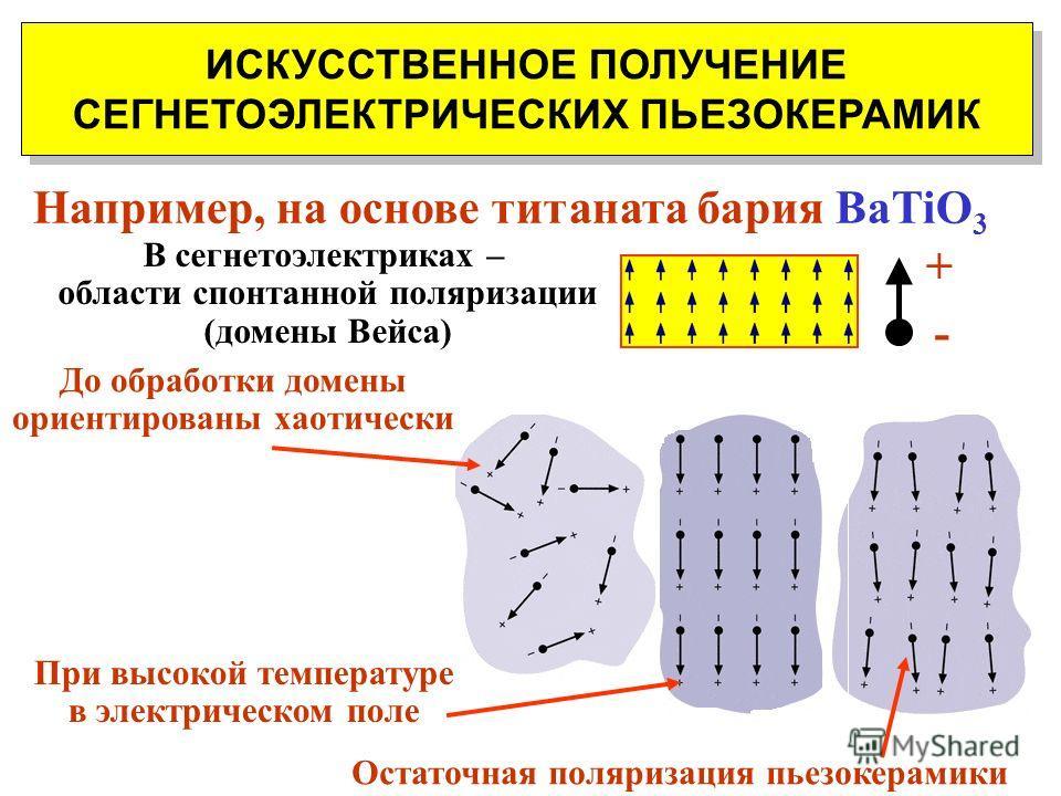 ( ОБРАТНЫЙ ) ПЬЕЗОЭЛЕКТРИЧЕСКИЙ ЭФФЕКТ Возникновение механических деформаций ( в полярных диэлектриках ) под действием электрического поля В природных пьезоэлектриках (кварц, турмалин) величина пьезоэффекта мала