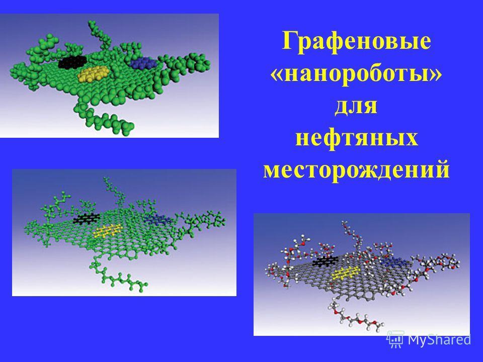 Графеновые «нанороботы» для нефтяных месторождений