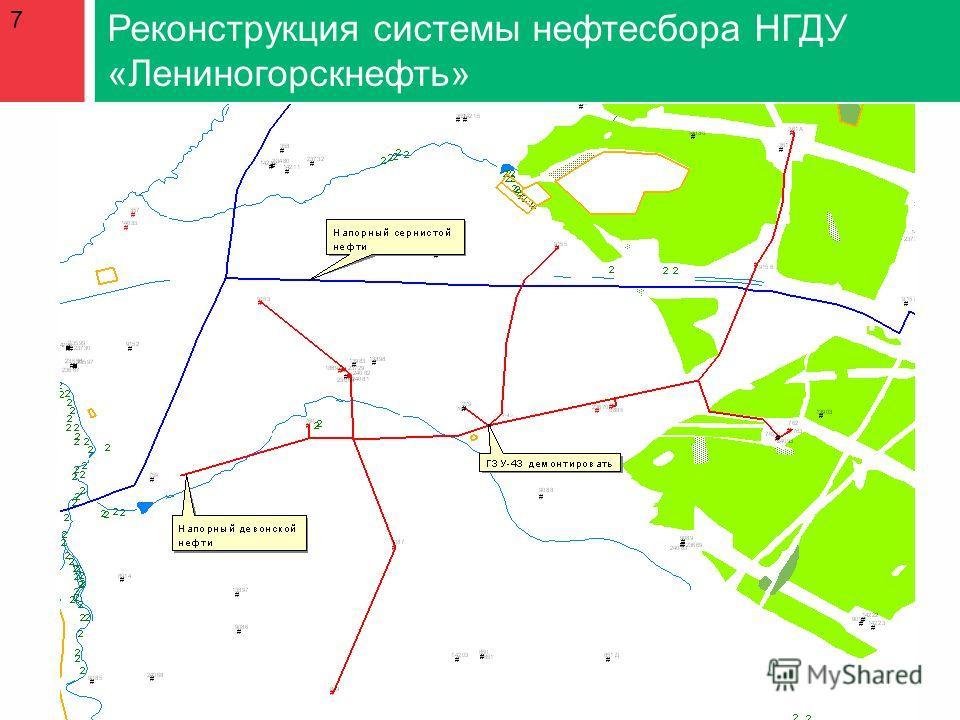 7 Реконструкция системы нефтесбора НГДУ «Лениногорскнефть»