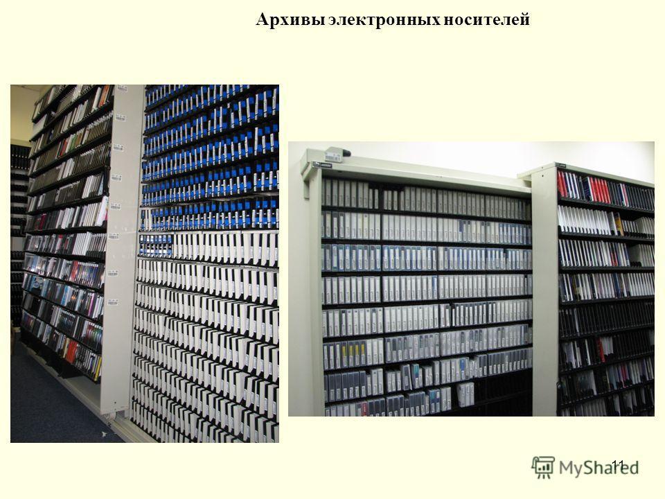 11 Архивы электронных носителей