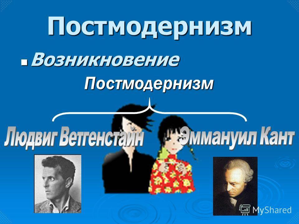 Ослабление Ослабление Постмодернизм Возникновение Возникновение Модернизм Неудача рационализма и эмпиризма Неудача рационализма и эмпиризма Неудача человечества в достижении утопии Неудача человечества в достижении утопии