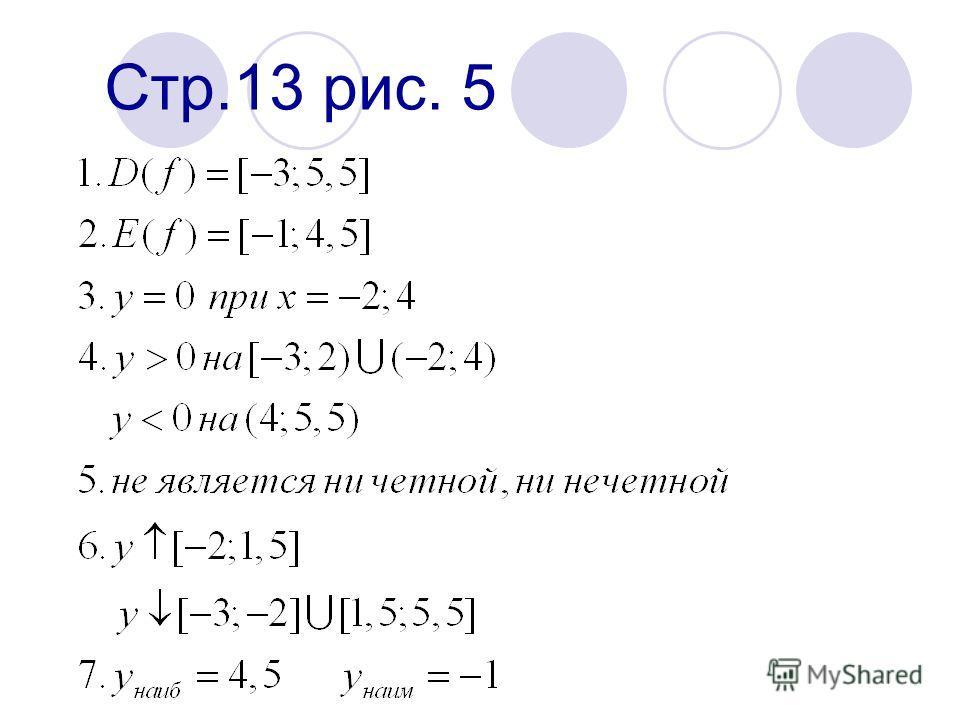 II проверка домашнего задания Стр.13 рис. 5 Стр.29 41 (2;6)