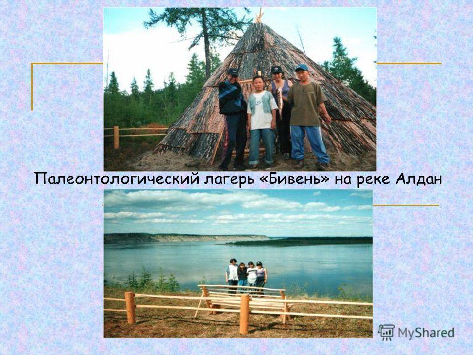 Палеонтологический лагерь «Бивень» на реке Алдан