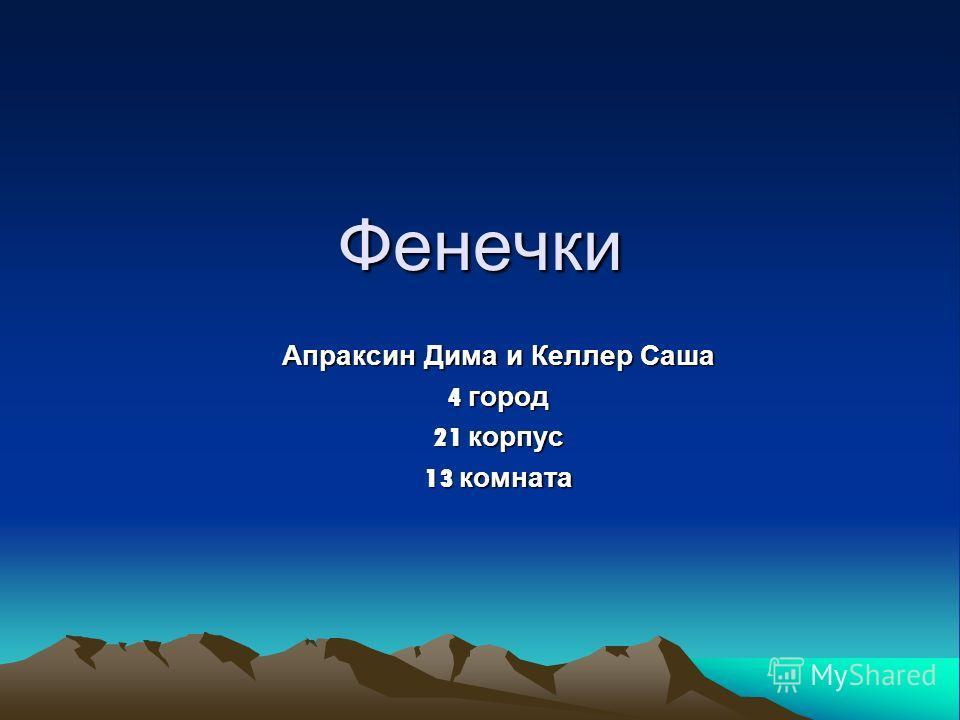 Фенечки Апраксин Дима и Келлер Саша 4 город 21 корпус 13 комната