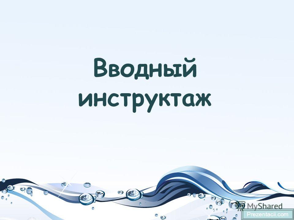 Вводный инструктаж Prezentacii.com