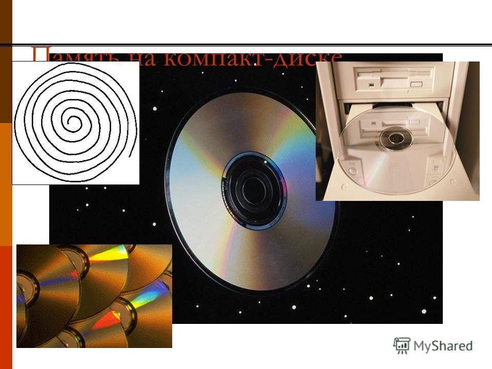 Память на компакт-диске