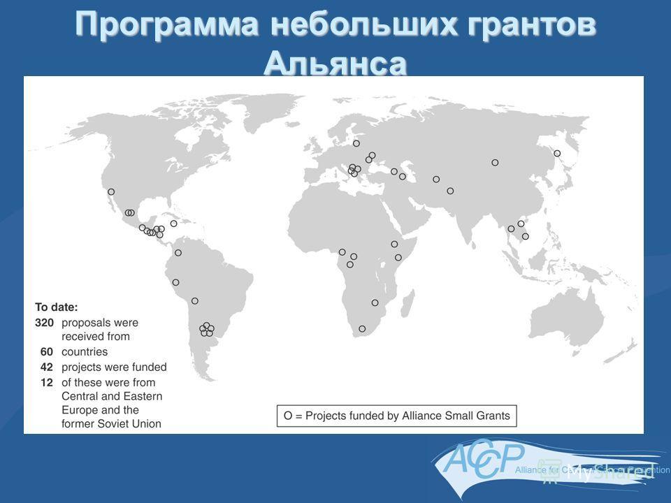 Программа небольших грантов Альянса