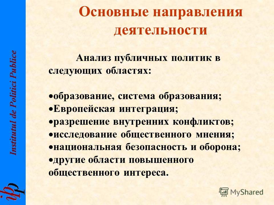 Структура управления Институтом