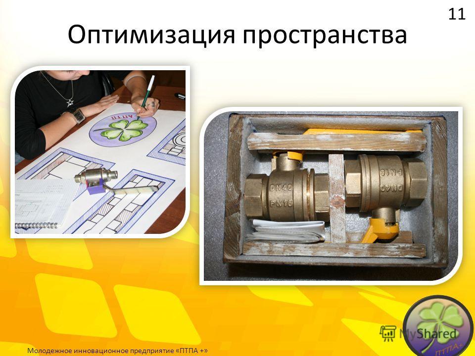 Оптимизация пространства 11 Молодежное инновационное предприятие «ПТПА +»