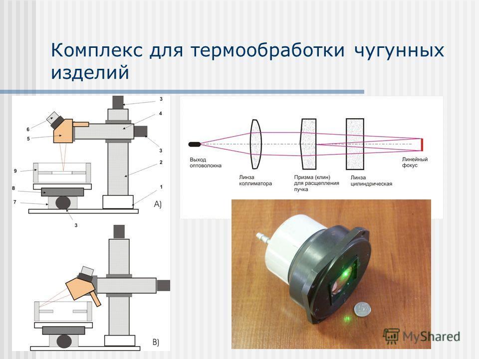 Комплекс для термообработки чугунных изделий