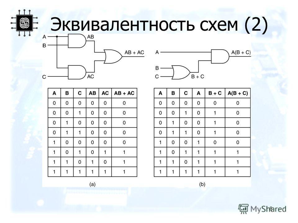 8 Эквивалентность схем (2)