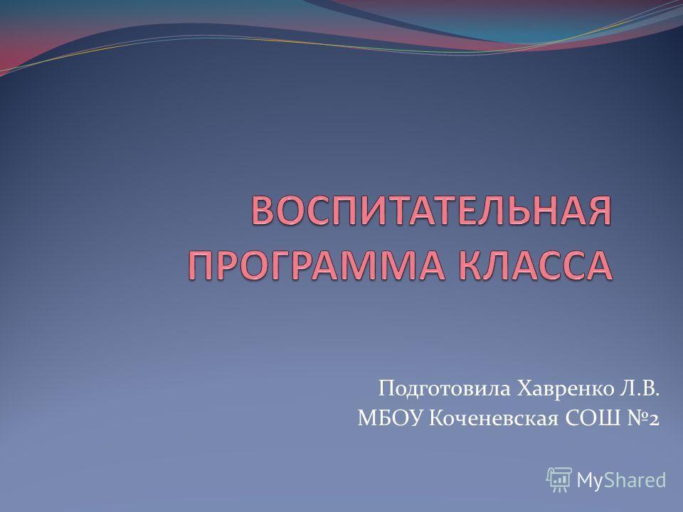 Подготовила Хавренко Л.В. МБОУ Коченевская СОШ 2
