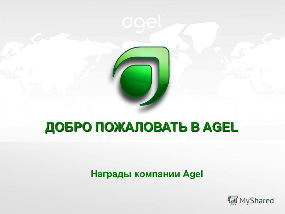 ДОБРО ПОЖАЛОВАТЬ В AGEL Награды компании Agel