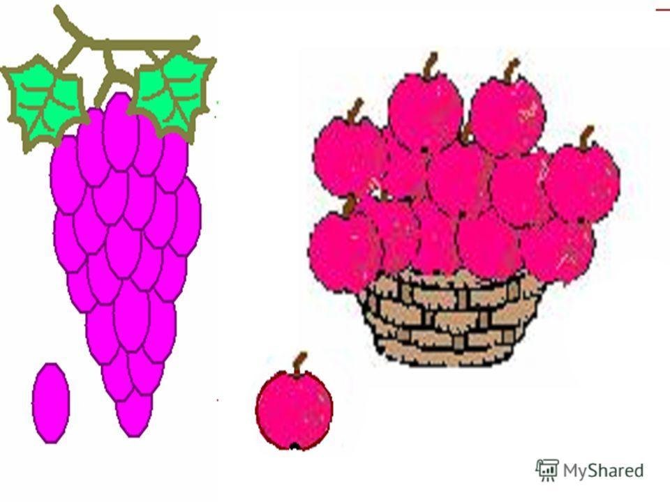 Запусти Paint. Установи размер страницы 800 на 300 пикселей («Рисунок» - «Атрибуты»). Нарисуй рисунки, используя «Копировать» с помощью клавиши Ctrl. Нарисуй сначала только оду ягоду. А затем копируй её, начиная с самой нижней и постепенно продвигаяс