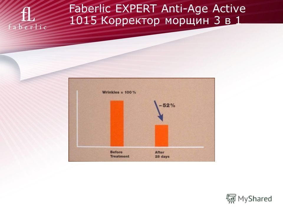 Faberlic EXPERT Anti-Age Active 1015 Корректор морщин 3 в 1