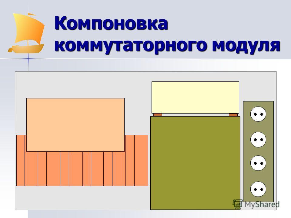 Компоновка коммутаторного модуля