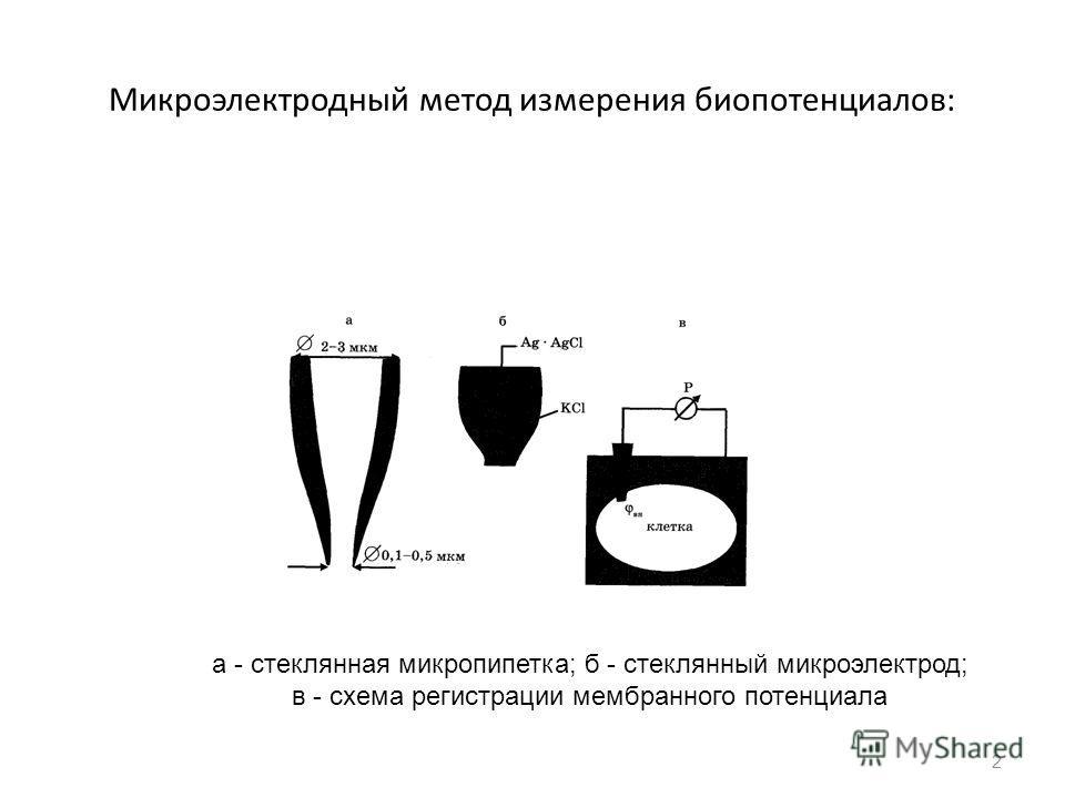 Микроэлектрод фото