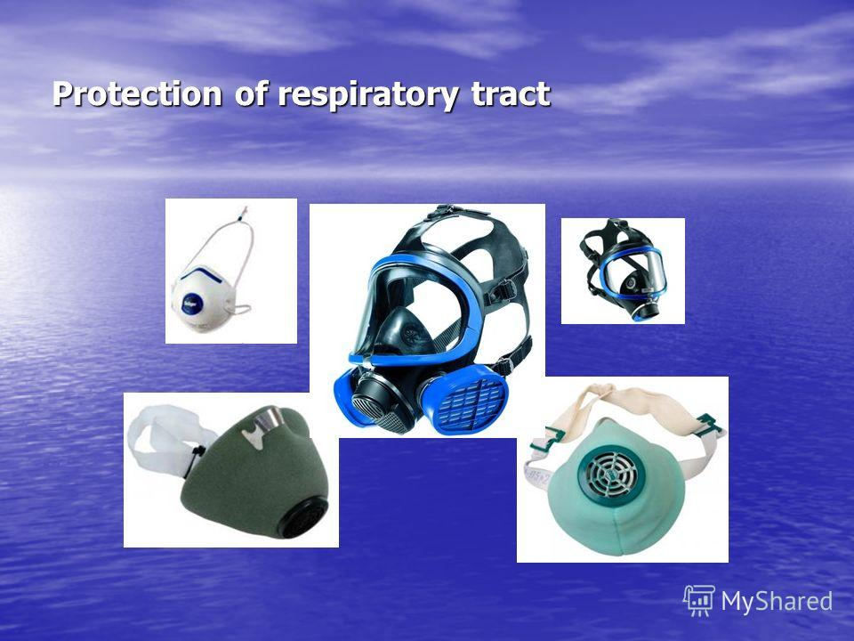 Protection of respiratory tract