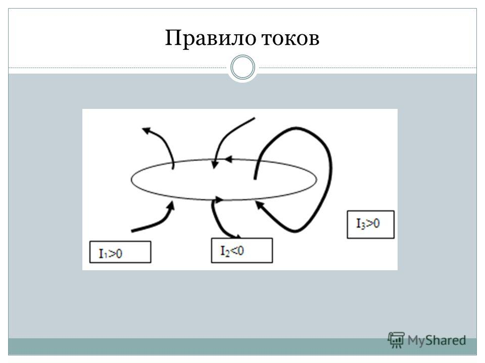 Правило токов