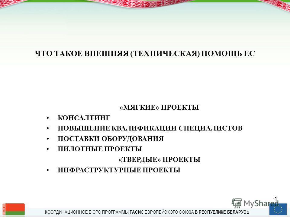 КООРДИНАЦИОННОЕ БЮРО ПРОГРАММЫ ТАСИС ЕВРОПЕЙСКОГО СОЮЗА В РЕСПУБЛИКЕ БЕЛАРУСЬ Координационное бюро – Ваш надежный консультант по вопросам предоставления помощи ЕС ИНСТРУМЕНТЫ ВНЕШНЕЙ ПОМОЩИ ЕВРОПЕЙСКОГО СОЮЗА ДЛЯ НАЧИНАЮЩИХ ММОЦ, семинар Фонда им. Фр