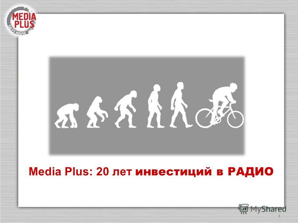 6 Media Plus: 20 лет инвестиций в РАДИО