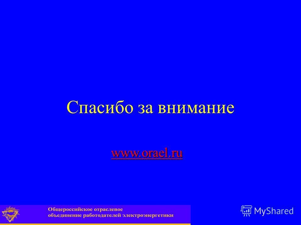 Спасибо за внимание www.orael.ru